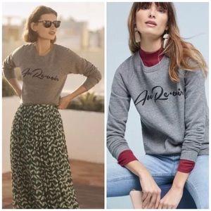Anthro Sol Angeles Au Revior French Sweatshirt XS